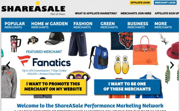 ShareaSale Affiliate Network Program